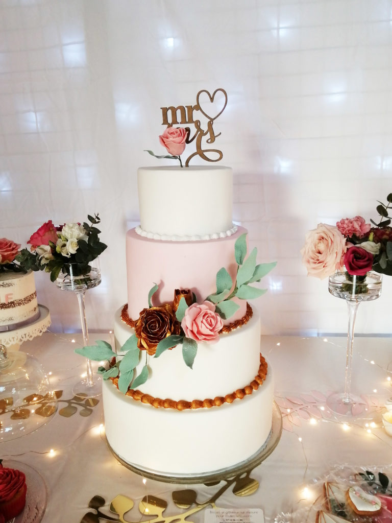 Table Mariage Rose