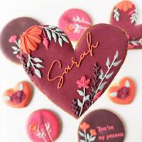 Cookie Lover (jusqu'à 5 designs, fleurs...)